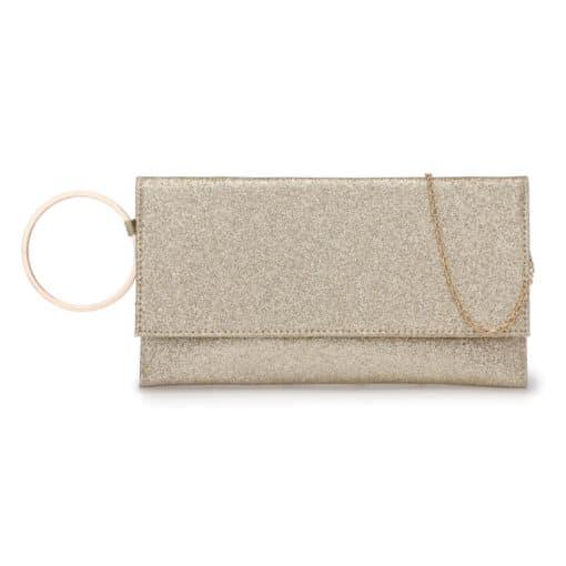 Vikson Gold Bracelet Clutch