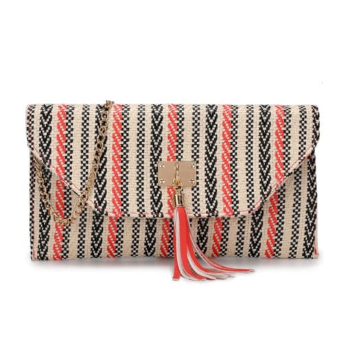 Vikson Multi Colour Aztec Clutch